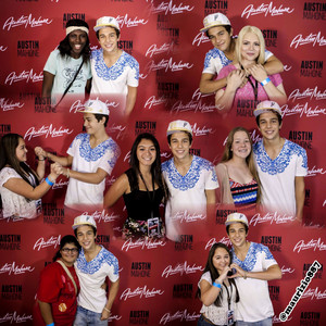 austin mahone,Meetgreet, Houston, 2014