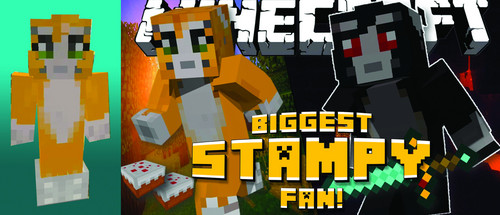 Stampylongnose Hintergrund titled biggest stampy Fan