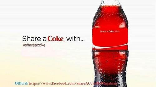 Coke wallpaper called blank for one