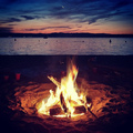 camp fire on Ogygia - percy-jackson-and-the-olympians-books photo