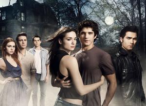 Teen lobo season 1 poster
