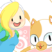 fionna and cake - adventure-time-with-finn-and-jake icon