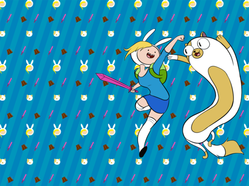 Adventure Time Wallpaper Fionna And Cake And Finn And Jake