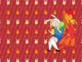 fionna and flame prince - adventure-time-with-finn-and-jake wallpaper