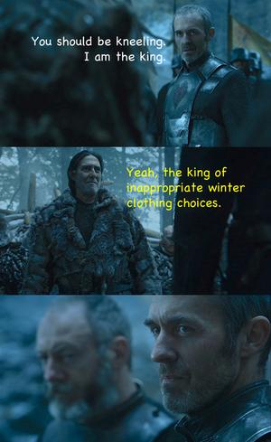 Mance Rayder & Stannis Baratheon