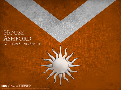 Game of Thrones karatasi la kupamba ukuta called House Ashford