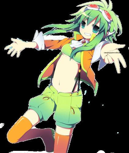 Gumi (Vocaloids) fondo de pantalla probably containing anime called gumi megpoid vocaloid