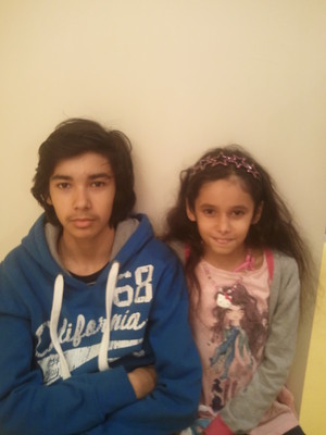 lol my brother with long hair