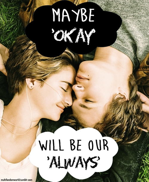 The Fault In Our Stars Movie Poster Tumblr
