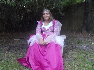 me as repunzel for hallween 2013