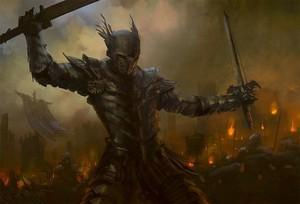 mercenary dual in flames