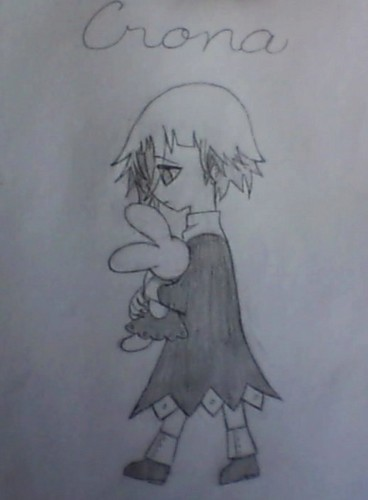 Soul Eater- Crona Обои titled my little Crona drawing