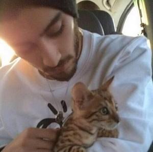Zayn with Tiger :**