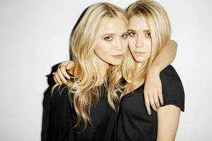 Mary-Katy and Ashley Olsen
