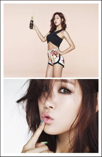SISTAR (씨스타) wallpaper entitled Soyu's teaser image for 'Touch My Body'