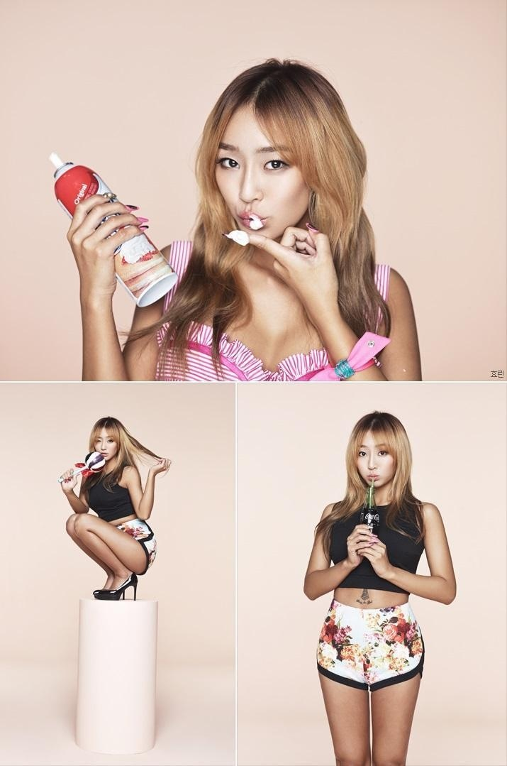Sistar Hyorin Touch My Body Teaser