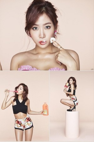 Sistar Soyou Touch My Body Teaser