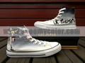 soul eater converse high top hand painted sneaker