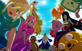 Adventure Time With Finn and Jake wallpaper possibly containing anime entitled the genderbent of the last pic