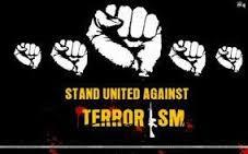 we r united against terrosrism