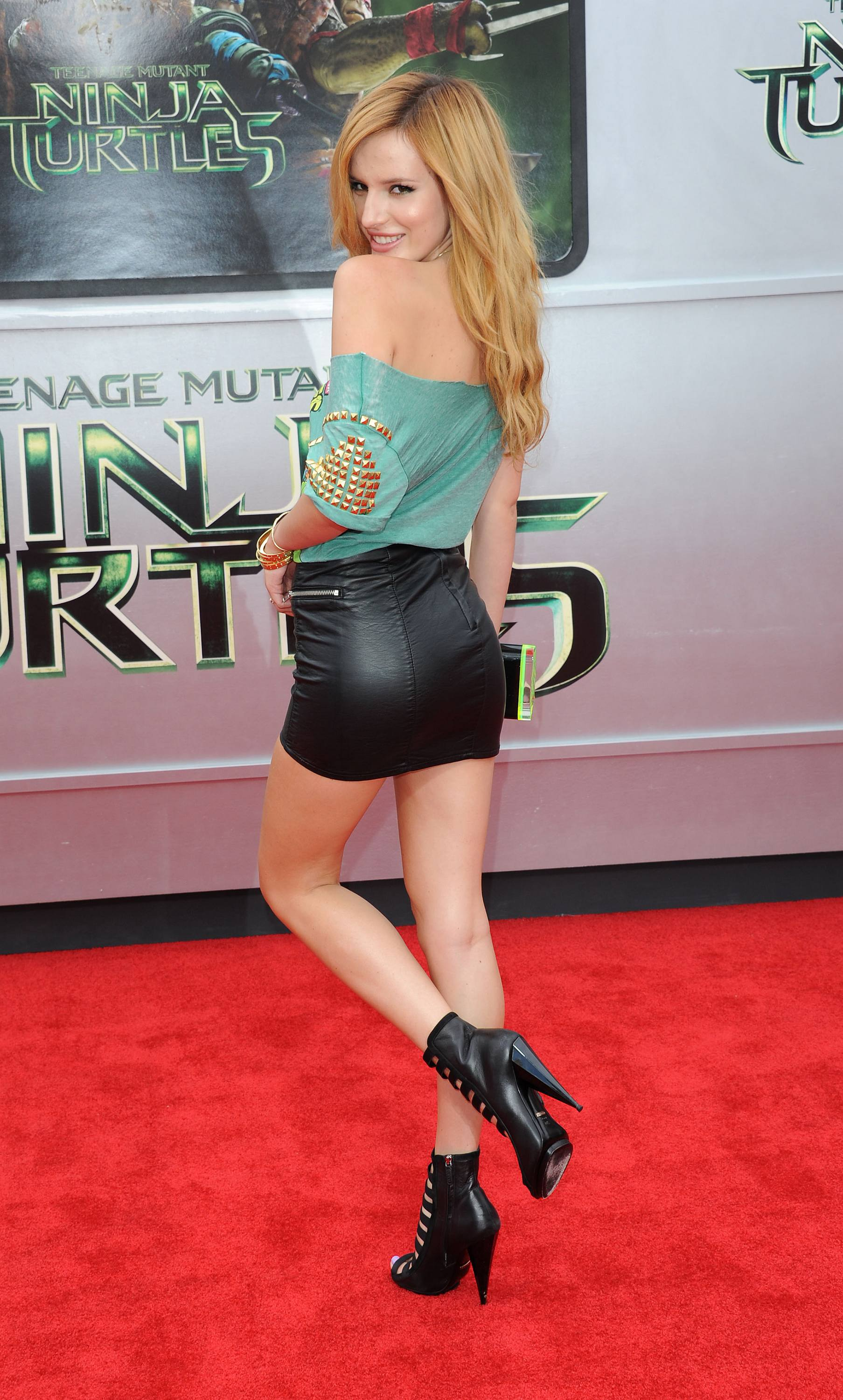 "Bella at the ""TEENAGE MUTANT NINJA TURTLES"" PREMIERE (August 2nd)"