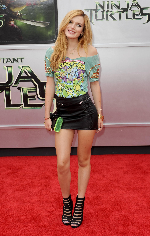 "Bella at the ""TEENAGE MUTANT NINJA TURTLES"" PREMIERE (August 2nd)"