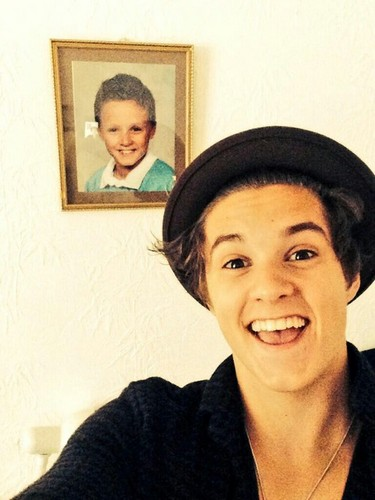The Vamps wallpaper possibly with a portrait entitled                            Brad