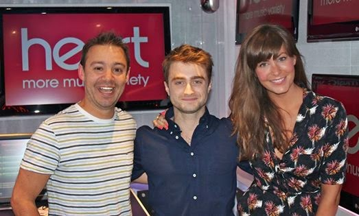 Daniel Radcliffe At Heart 96-107 (Fb.com/DanielJacobRadcliffeFanClub)