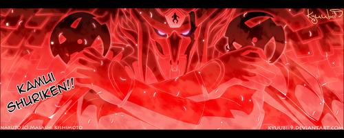 Naruto Shippuuden fond d'écran titled *Kakashi's Susanoo : Kamui Shuriken*