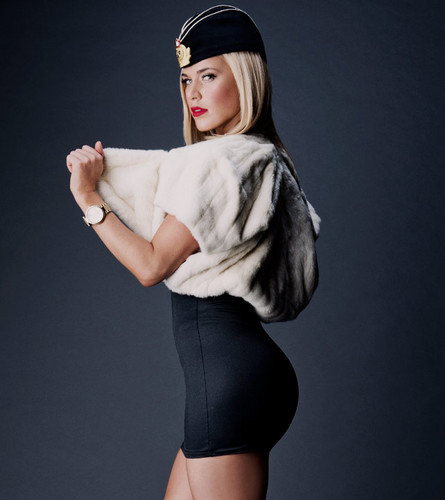 WWE Divas wallpaper possibly containing a fur coat called       Lana