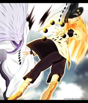*Naruto Cut's Kaguya's Hand*