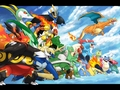 pokemon -             Starters Evs. wallpaper
