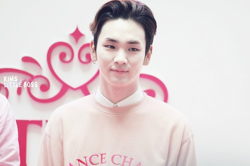 Kim Kibum / Key wallpaper possibly containing a portrait called ÉTUDE HOUSE FLAGSHIP STORE OPENING' IN SHANGHAI