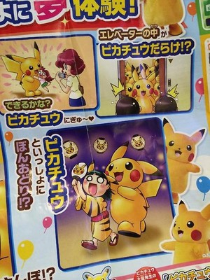 The Great Pikachu Outbreak flyers