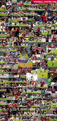 Soccer wallpaper called AC MILAN poster