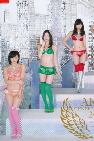 akb48 Sousenkyo pakaian renang, baju renang Surprise 2014