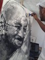AMAZING Acrylic on canvas 100*70cm