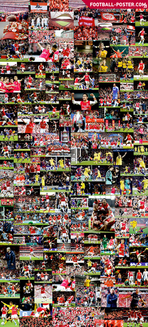 ARSENAL F.C. poster