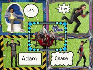 Adam, Bree, Chase, and Leo