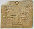 Akhenaten and Nefertiti with their Kids