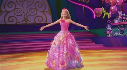 芭比 电影 壁纸 titled Alexa's princess 袍, 礼服