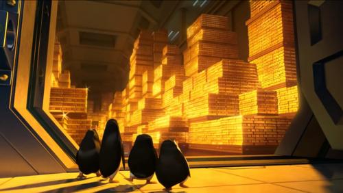 पेंग्विन्स ऑफ मॅडगास्कर वॉलपेपर entitled Alot of सोना Bars. *-*