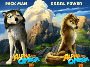 Alpha And Omega Promotional Posters