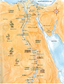 Ancient Egyptian Map