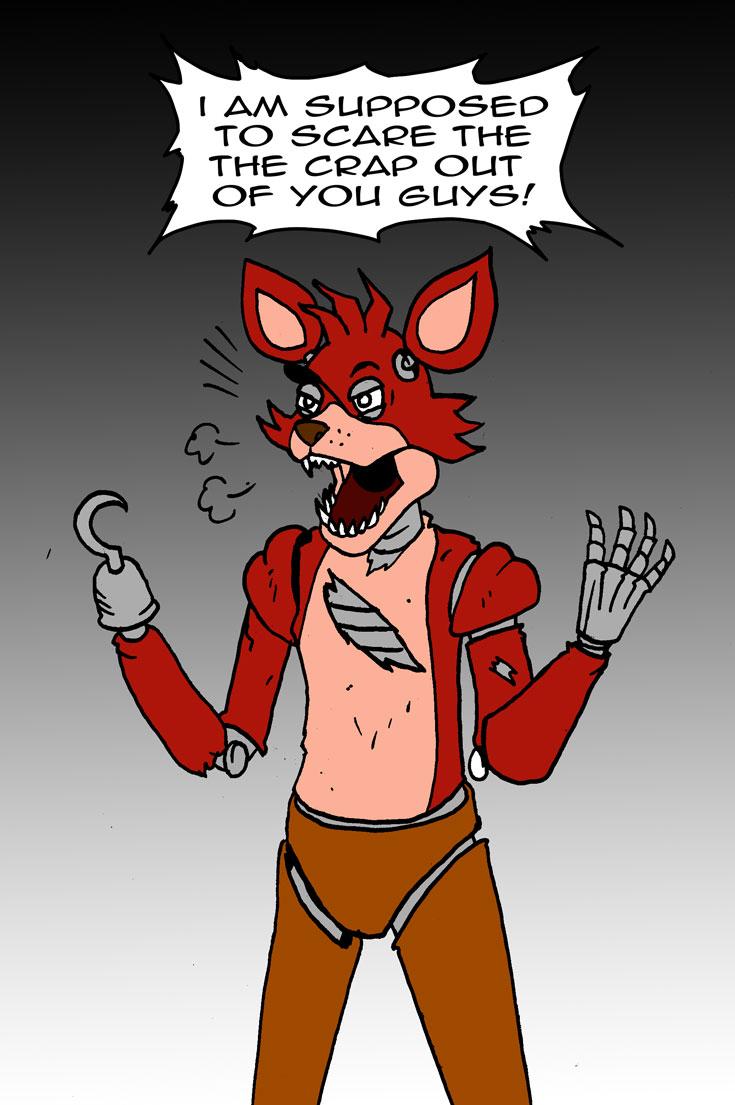 art nights at s Freddy five foxy