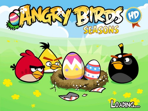 angry birds wallpaper entitled Angry Birds Seasons