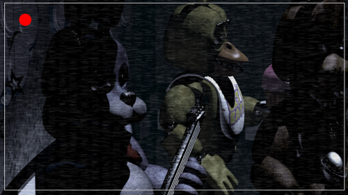 Five Nights at Freddy's wallpaper entitled Animatronics on the stage