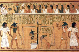 Anubis Weighing of The tim, trái tim