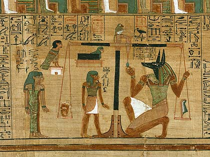 Anubis Weighing of The 心