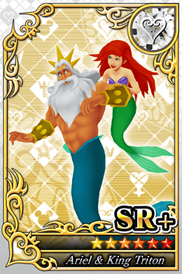 Ariel Cards in Kingdom Hearts X